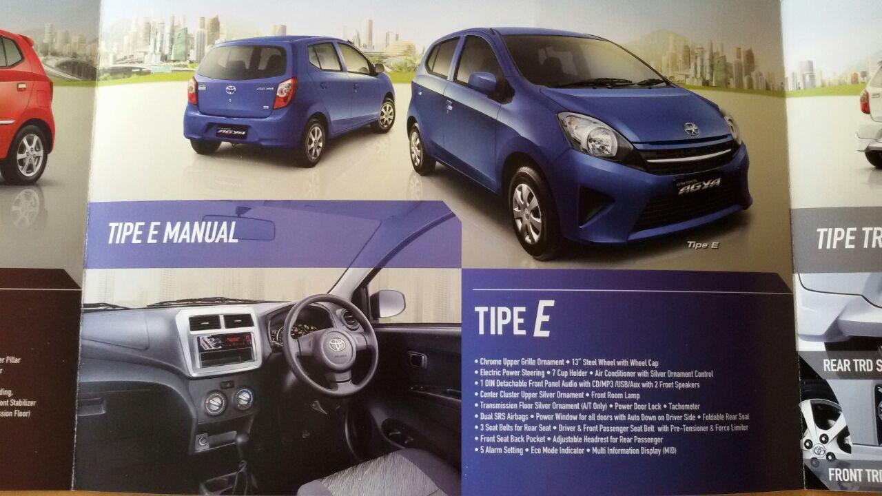 Gambar Mobil Toyota Agya Tipe E Modifikasi Mobil